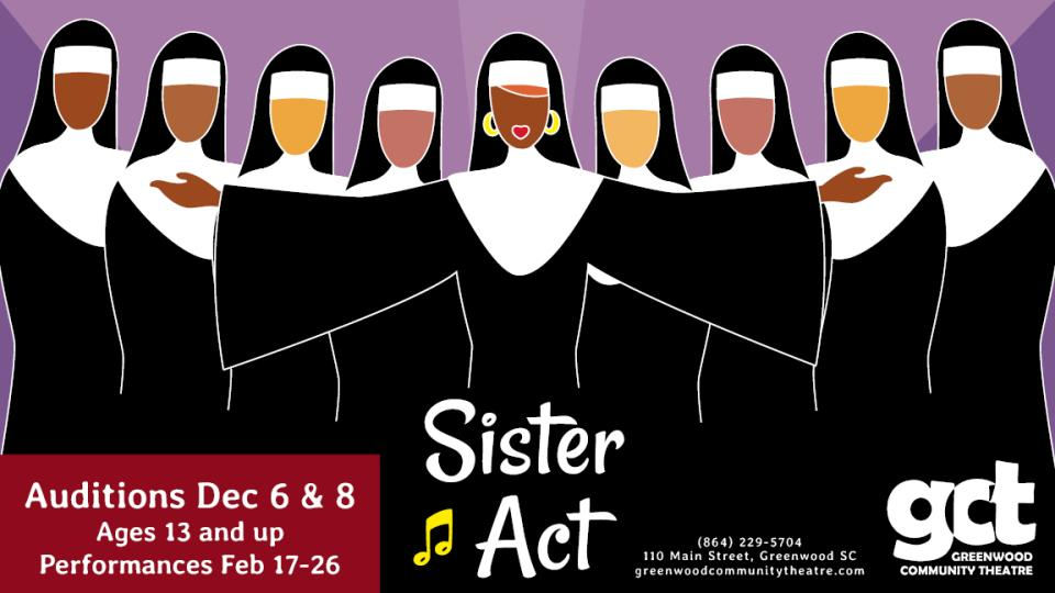 Sister Act slide AUD